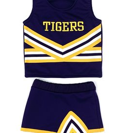 Lets Cheer LSU Cheer 2 Piece Purple