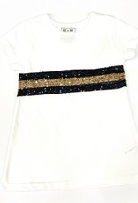 Lulu Bebe LLC Saints Sequins 3/4 Sleeve Dress