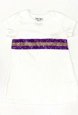 Lulu Bebe LLC LSU Sequin Dress