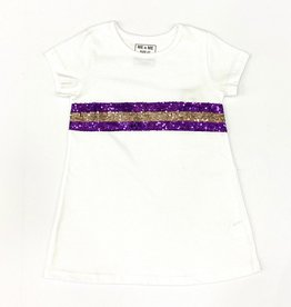 Lulu Bebe LLC LSU Sequin Dress