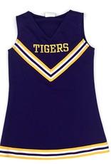 Lets Cheer Purple Cheer Uniform Dress - Tigers