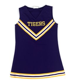 Lets Cheer LSU Cheer Dress Purple
