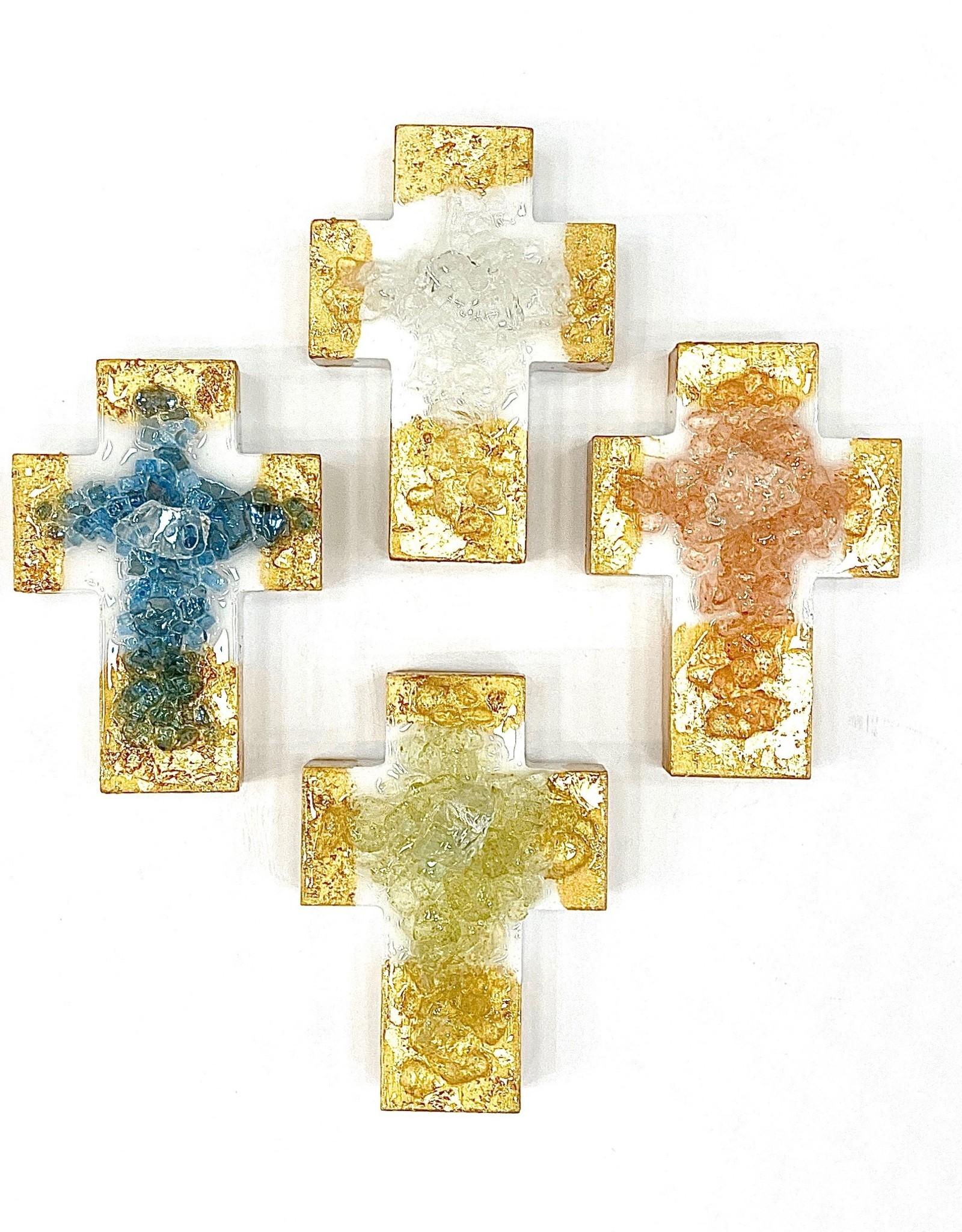 Lindsey Merlerine Designs Gold Chunky Cross