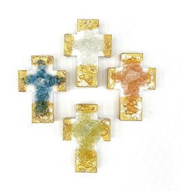 Lindsey Merlerine Designs Gold Chunky Cross