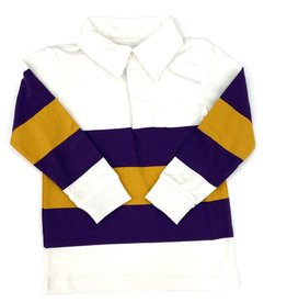 Lulu Bebe LLC LSU Rugby Polo Shirt