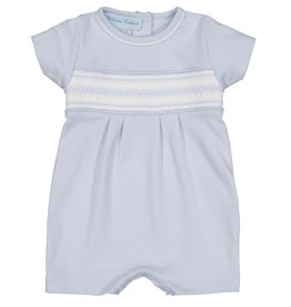 Feltman Brothers Pima Cotton Smocked Diamond Shortall