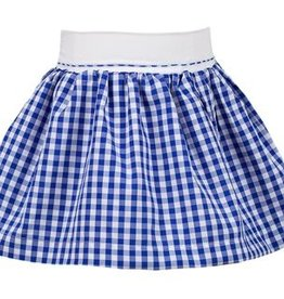 The Proper Peony Blue Gingham Skirt