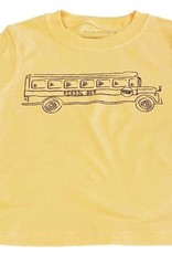Mustard & ketchup Yellow School Bus Tee