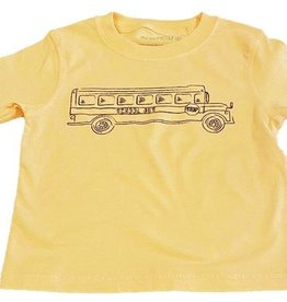 Mustard & ketchup Yellow School Bus Tee