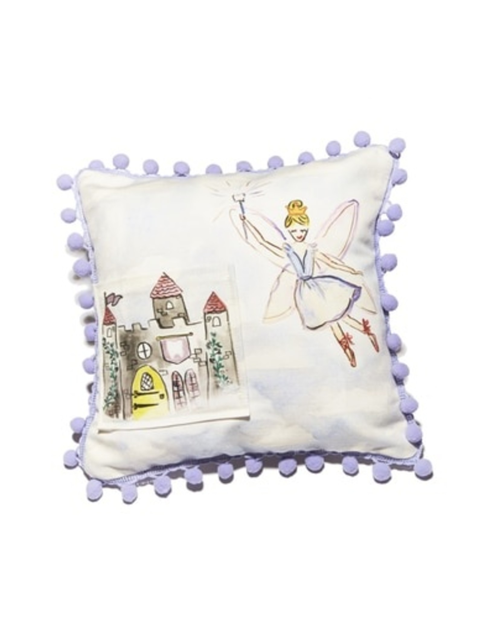 Over The Moon 10x10 Tooth Fairy Pillow