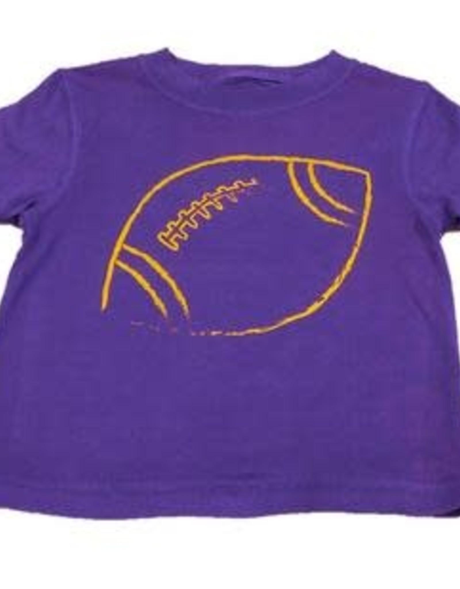 Mustard & ketchup Purple Football