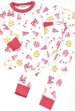 Magnolia Baby Love Cheer Long Pajamas
