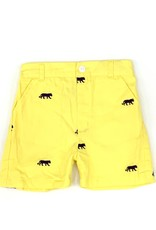 Little Louanne Tiger Embroidered Shorts