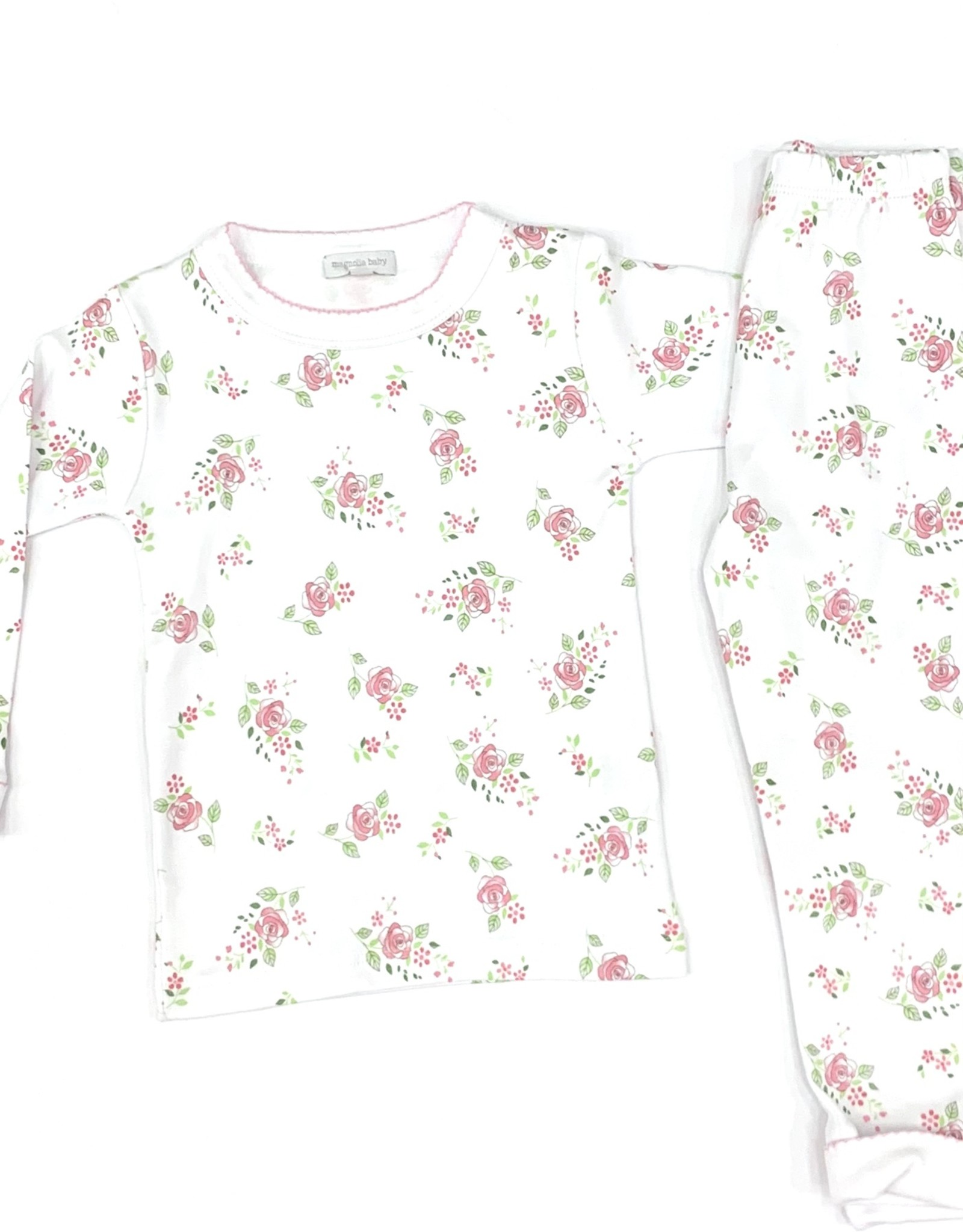 Magnolia Baby Hope's Rose Long Pajamas Pink