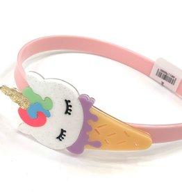 Lillies&Roses Unicorn Ice Cream Headband