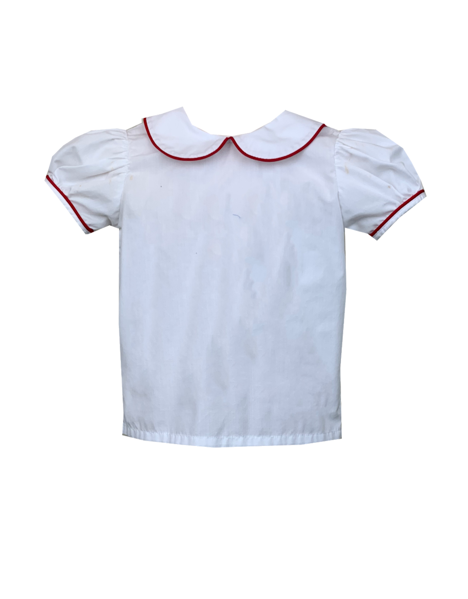 LullabySet Better Together Shirt White With Red Piping