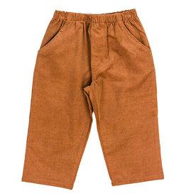 The Bailey Boys Chocolate Brown Cord Elastic Pants