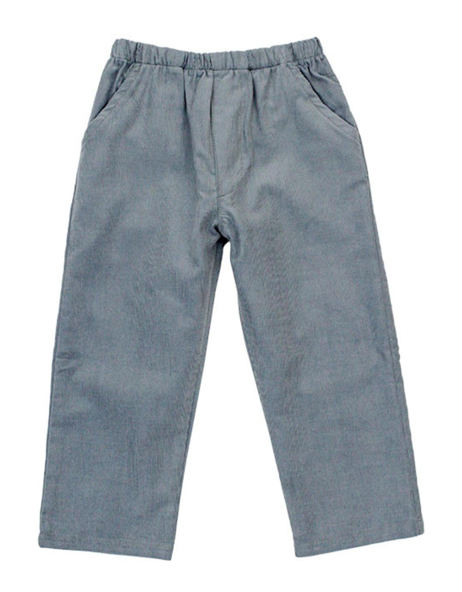 The Bailey Boys Grey Cord Elastic Pants
