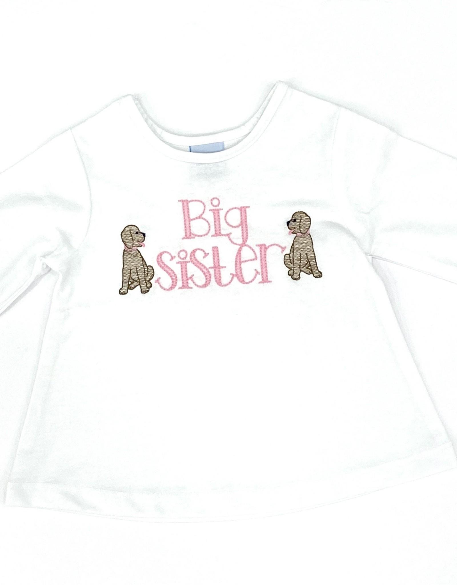 The Bailey Boys White Knit Big Sister Shirt