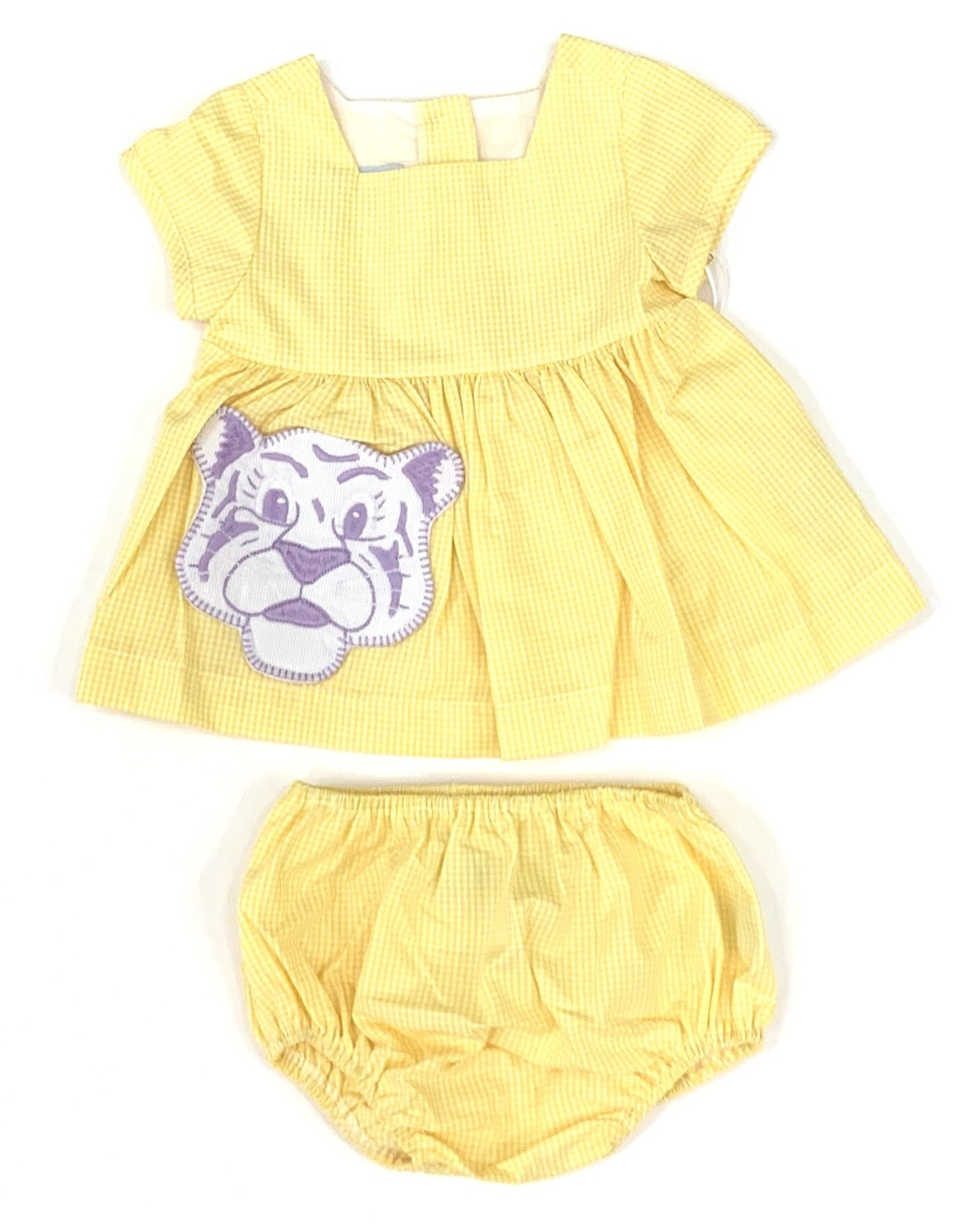 Pixie Lilly Pixie Lily Tiger Top Bloomer Set