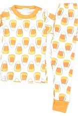 Magnolia Baby Candy Corn Long PJ's