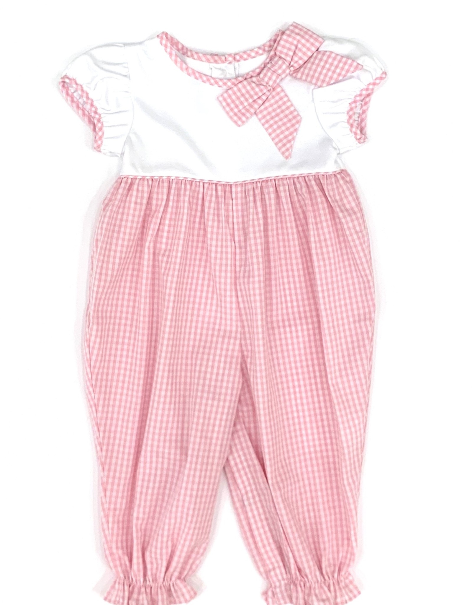 Little English Light Pink Park Avenue Romper