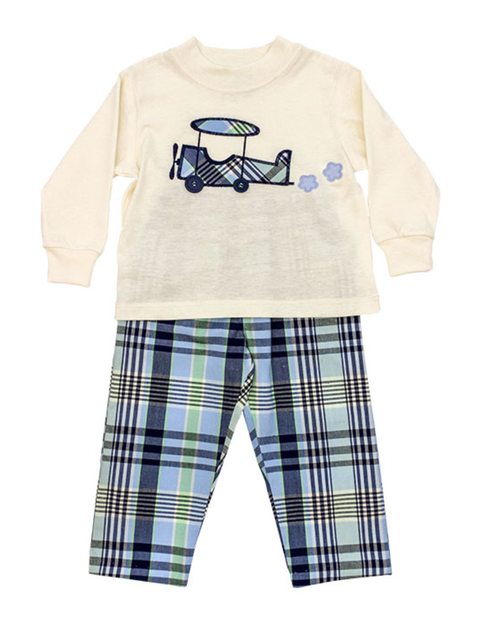 The Bailey Boys Airplane Boys Pant Set