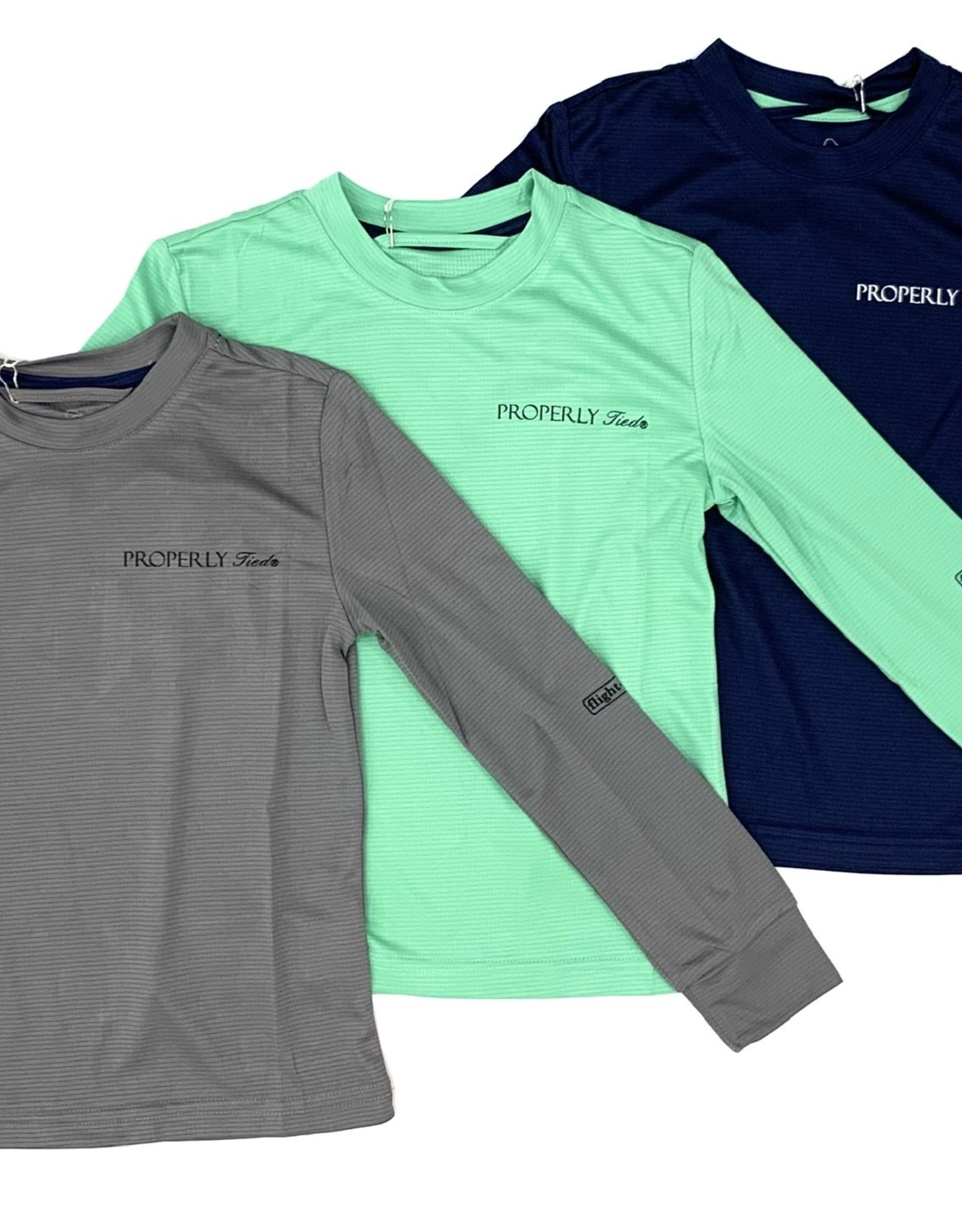 Properly Tied Flight Cool Tech Long Sleeve Shirt