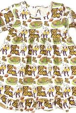 Velvet Fawn Tiger Land Lounge Dress