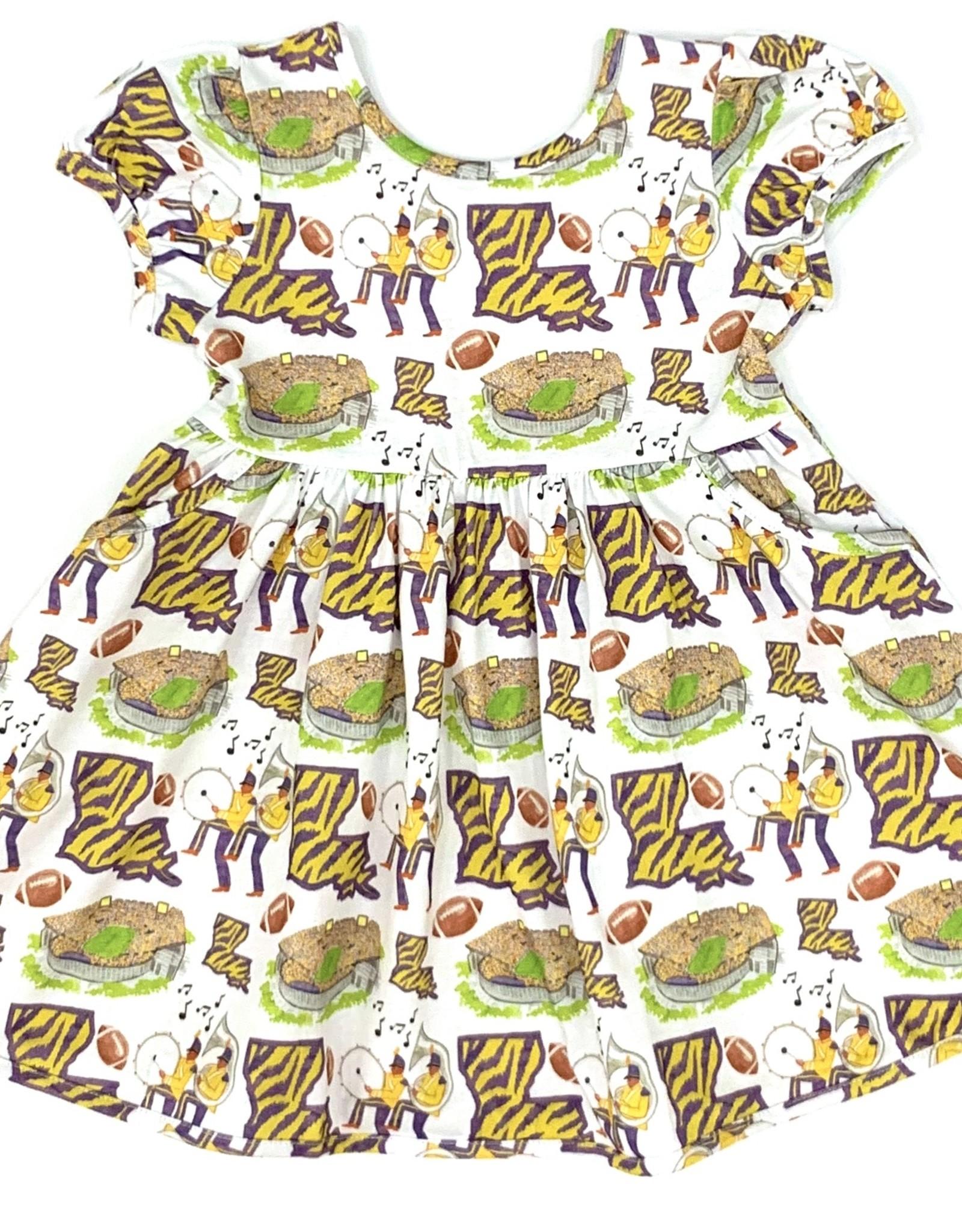Velvet Fawn Tiger Land Dress