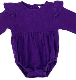 Velvet Fawn Purple Muslin bubble