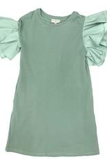 Hayden Los Angeles Ruffle Sleeve Seafoam Dress