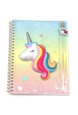 Twos Company Squishy Unicorn Notebook