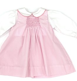 Petit Ami Pink Long Sleeved Jumper Dress