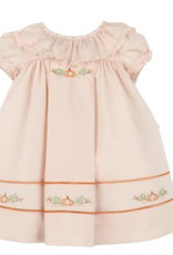 Sophie & Lucas Peach Pumpkin Ruffle Dress