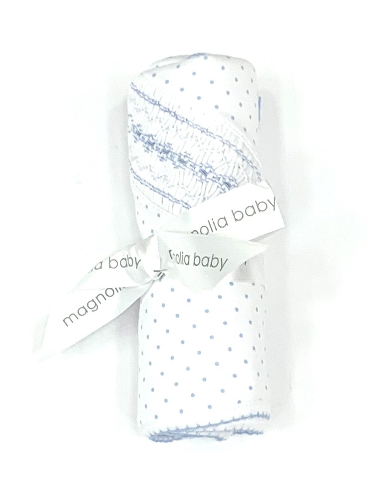 Magnolia Baby Polka Dot Blanket