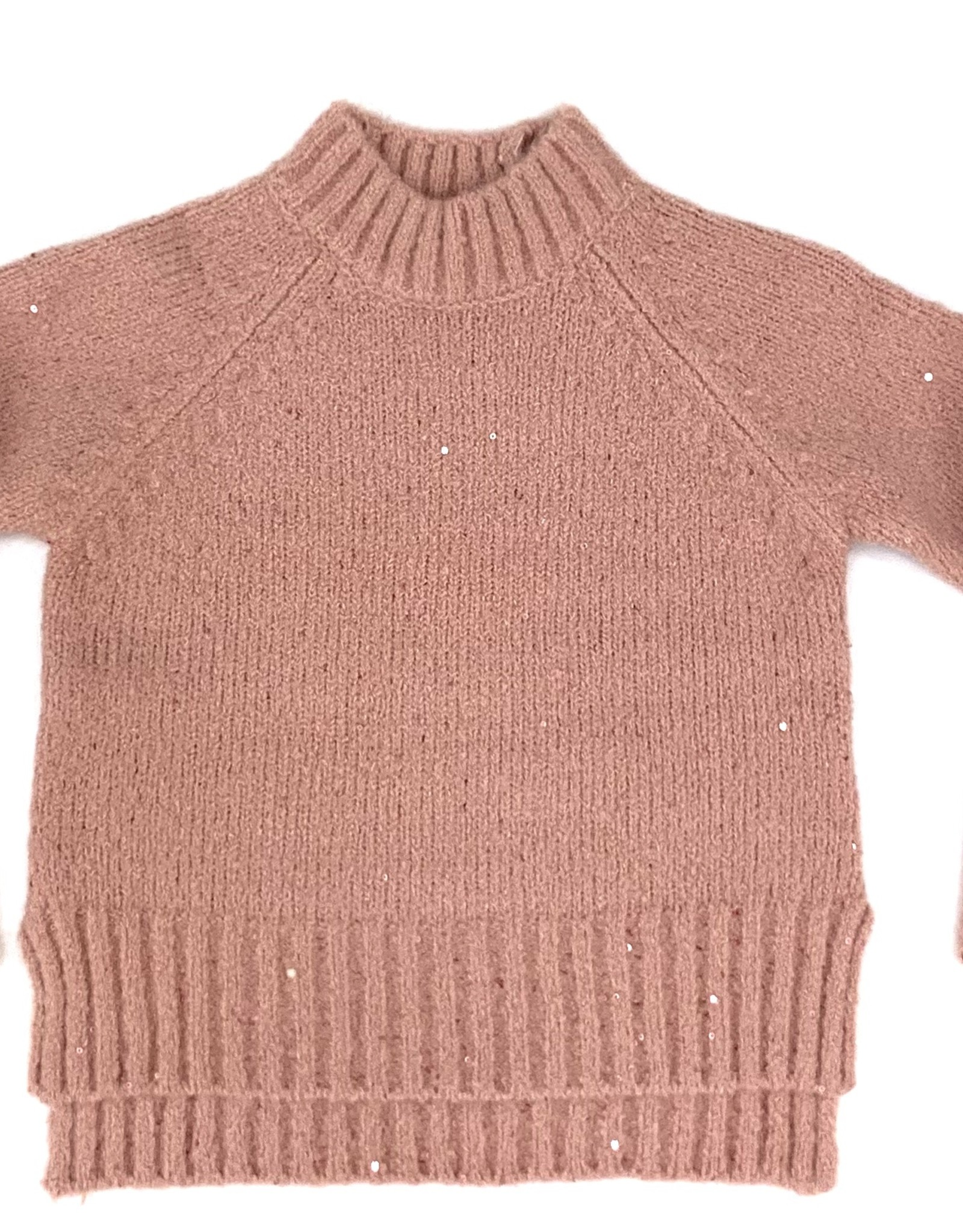 Mayoral Pink Sequins Sweater