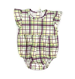 Velvet Fawn Carnival Plaid Bubble