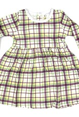 Velvet Fawn Carnival Plaid Dress Set