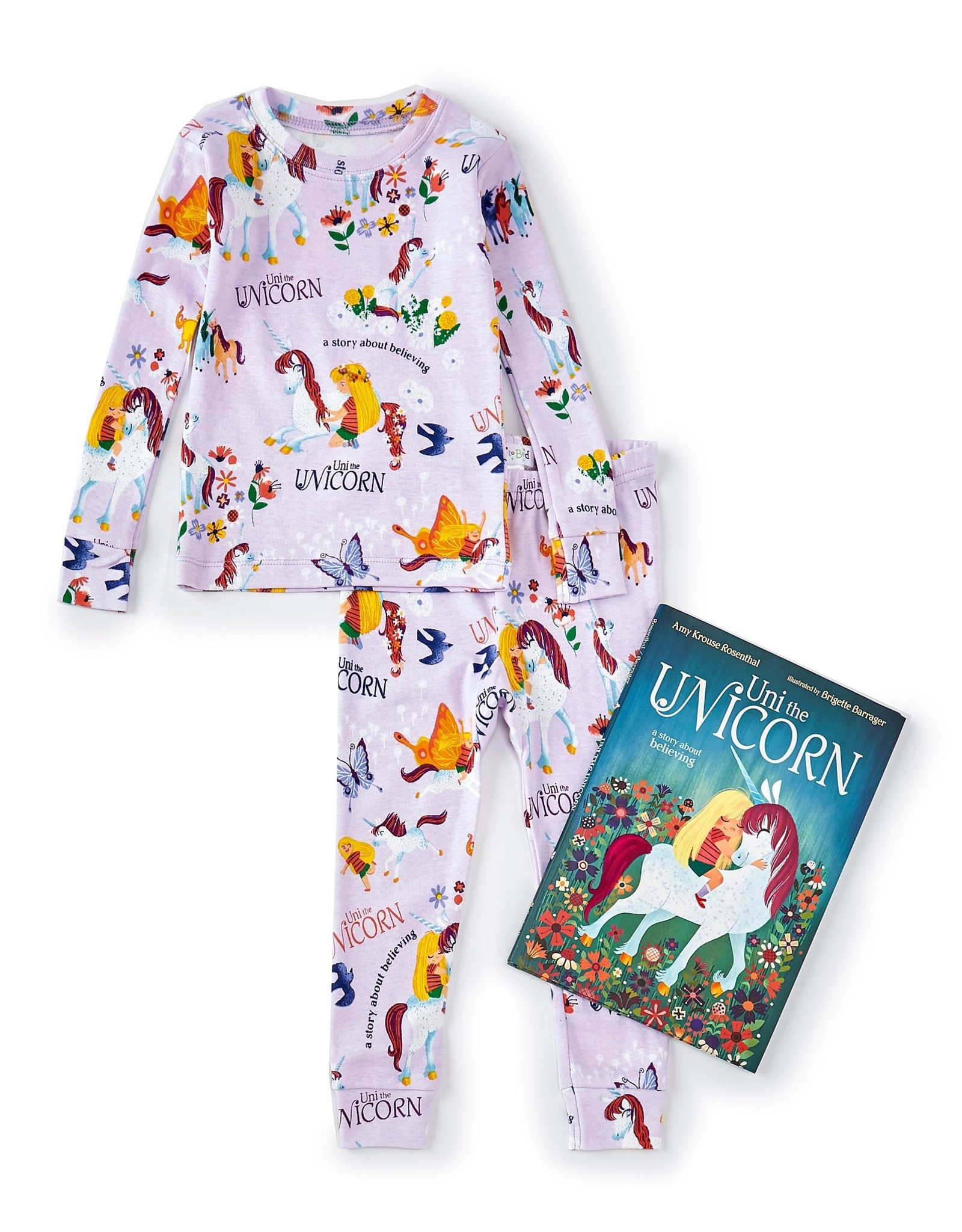 Books To Bed Pajama Set With Book