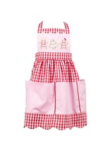 The Proper Peony Child Christmas Apron