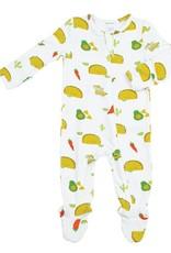 Angel Dear Taco Party Zipper Footie