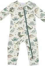 Angel Dear Crayon Dinosaur Zipper Romper