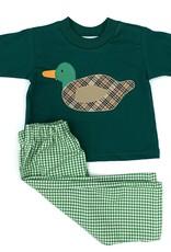 Funtasia Too Green Check Duck Set