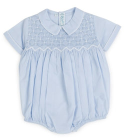 Feltman Brothers Diamond Smocked Romper