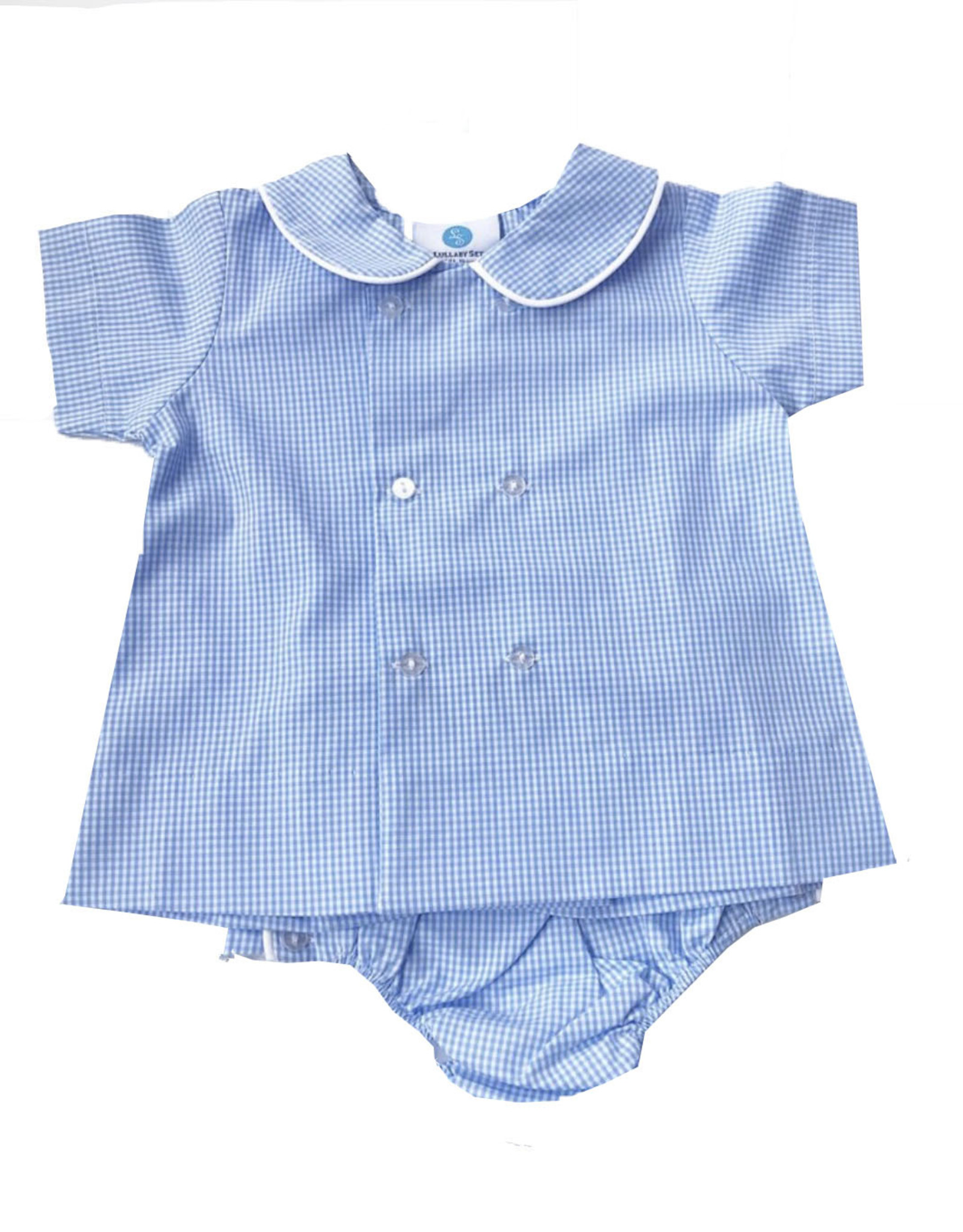 LullabySet Blue Arlington Apron Set