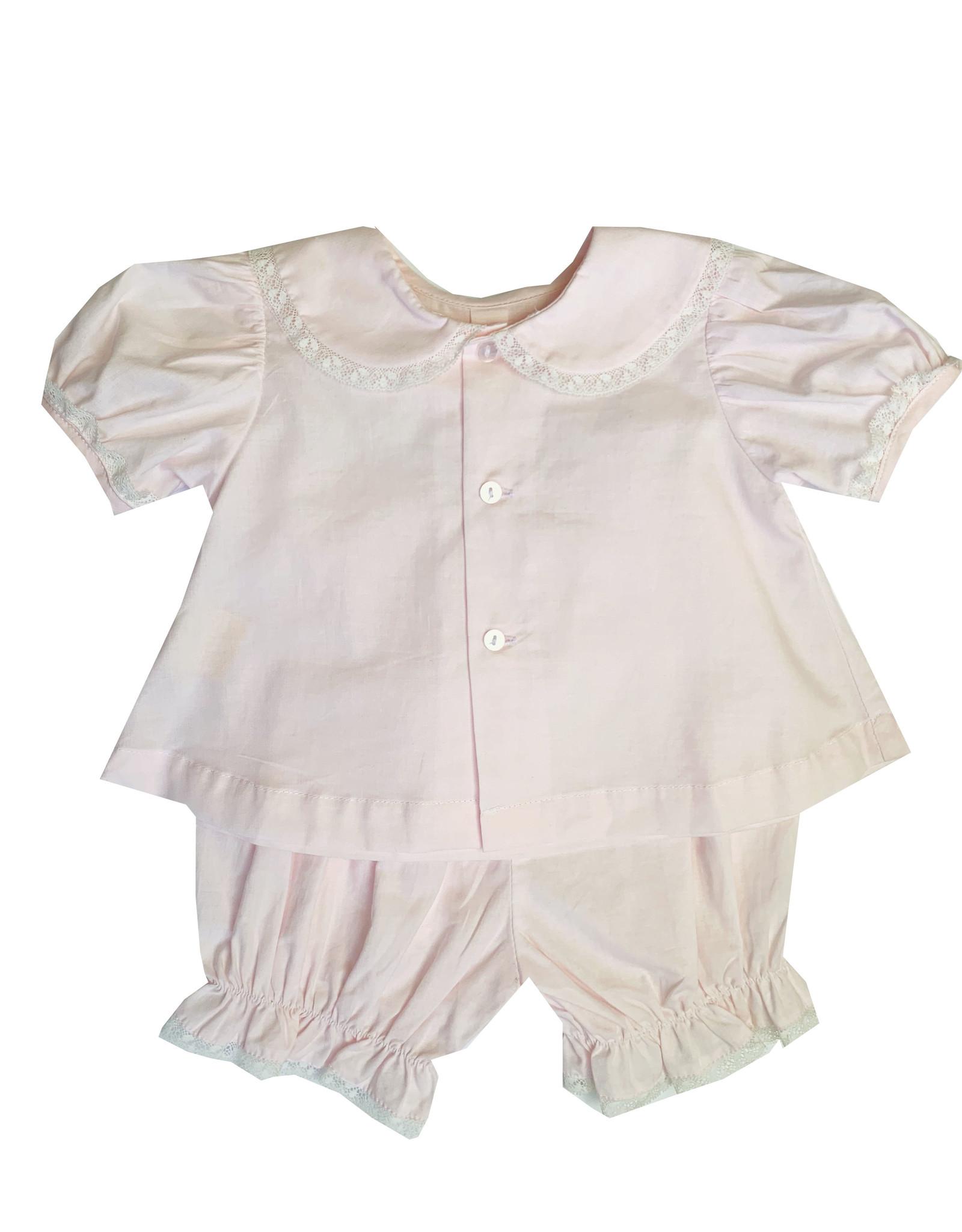 LullabySet Pink Adorable Diaper Set