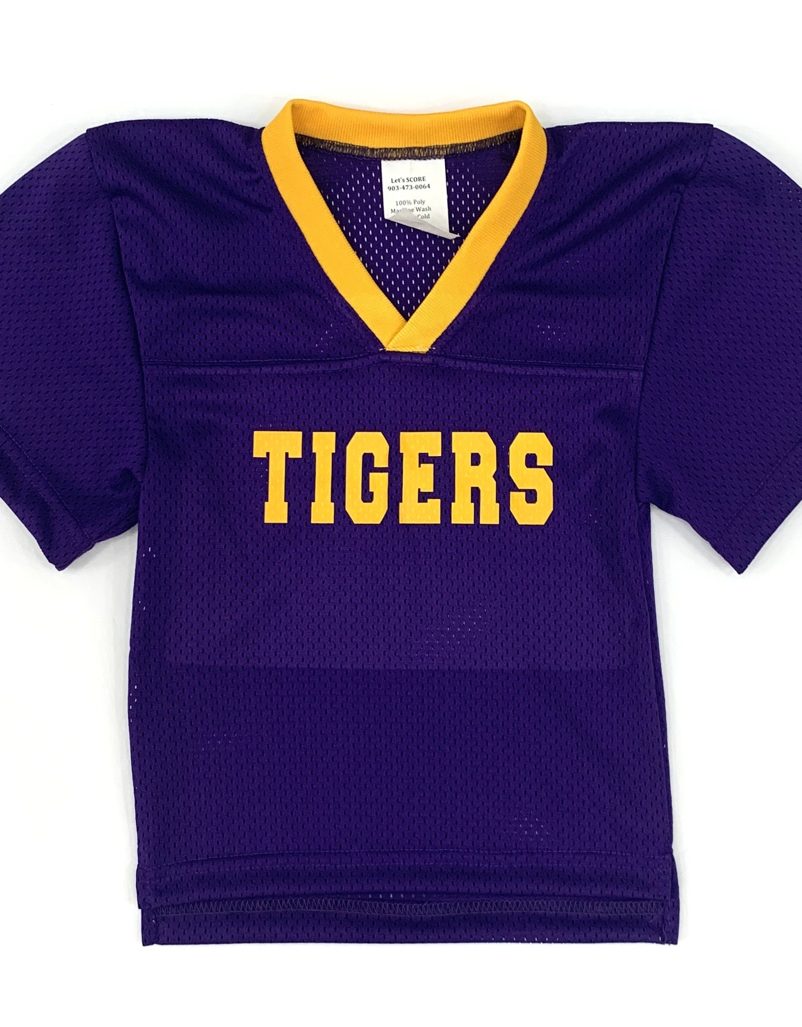 Let's Score Let's Score Tigers Football jersey