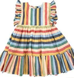 Pink Chicken Kit Multistripe Dress