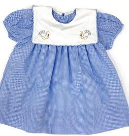 Remember Nguyen Blue Turkey Dress